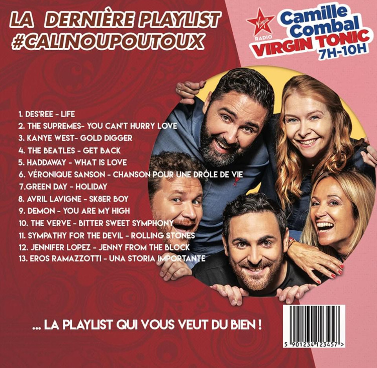 La playlist #CALINOUPOUTOUX
